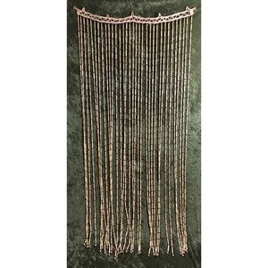 Accents - 🌈 Woven beaded bamboo curtain